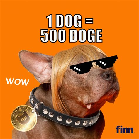 A place to discuss dogecoin, come up with new ideas with the community. Pet food brand Finn to boost Dog adoptions 'to the moon ...