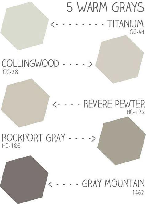 warm gray paint color ideas benjamin oc 49 titanium