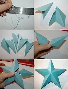 Faire Des Origami : origami no l comment faire des toiles origami d coratives hand made origami sterne ~ Nature-et-papiers.com Idées de Décoration