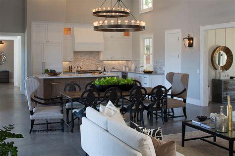 open plan kitchen family room ideas kitchen and family room ideas family room farmhouse with