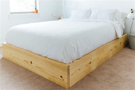 easy queen bed platform plans maker gray   build  platform bed queen bed frame diy