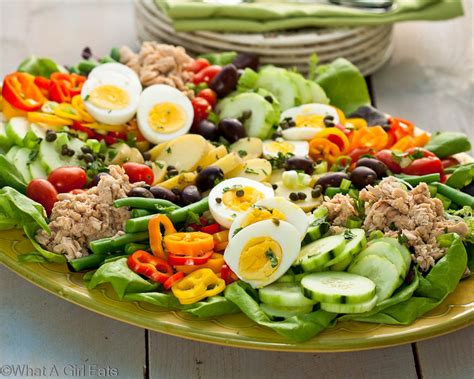 cuisine nicoise nicoise salad a composed salad what a eats