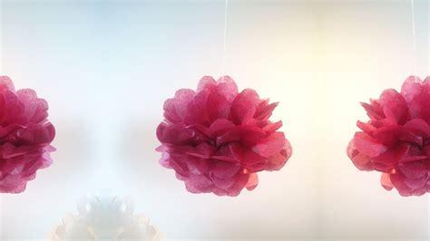 faire un pompon en hd tuto faire un pompon en papier de soie make a paper silk pom pom