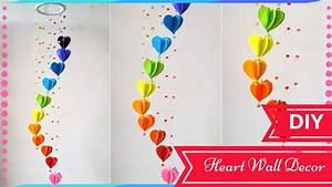 DIY Wall Decor Ideas for Valentines Day - Heart Decors in