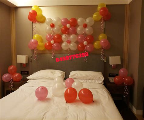 Bedroom Decorating Ideas For His And by Room Decoration For Birthday In