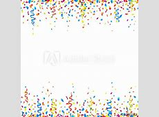 Celebration background with colorful confetti and party