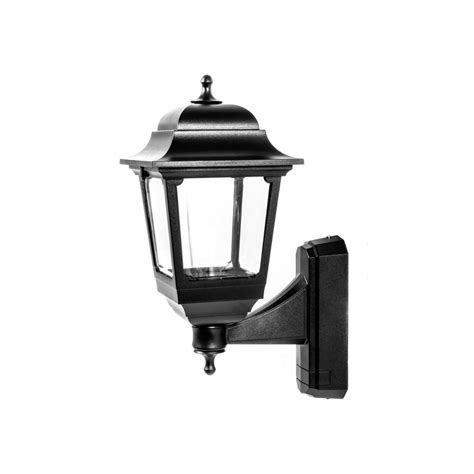 asd 4 sided coach lantern 100w 100w bc black