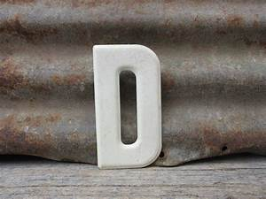 metal letter sign vintage letter d sign small size 5 1 2 inch With small metal letters for signs