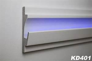 Led Profile Indirekte Beleuchtung : 1 15 meter led stuckleiste f r indirekte beleuchtung xps 125x35 kd401 dekore mit beschichtung ~ Orissabook.com Haus und Dekorationen
