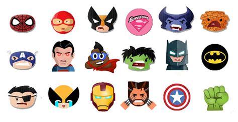 superhero emoji keyboard  emoji
