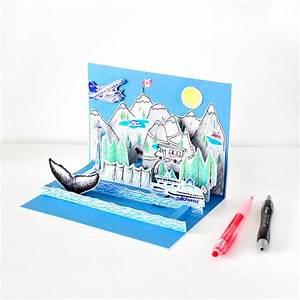 Pop Up Karte : kanada pop up karte handmade kultur ~ Markanthonyermac.com Haus und Dekorationen