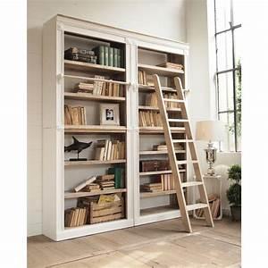 Scala per libreria in legno Casamatastore