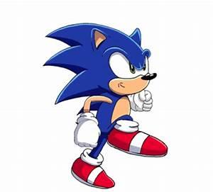 Sonic Running by ShadowBito on DeviantArt