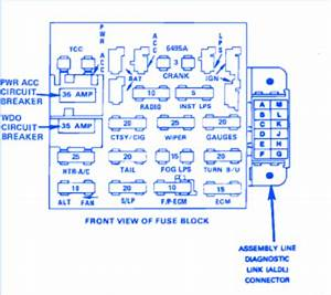 94 Chevy Cavalier Fuse Box Diagram Wiring Diagrams