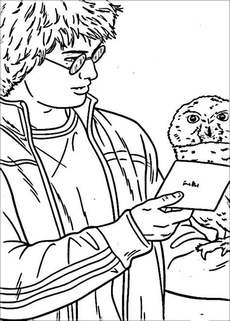 disegni da colorare di harry potter kawaii desenhos infantis para colorir do harry potter