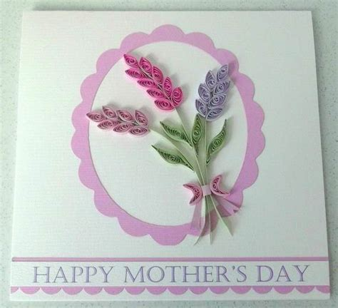 quilled mothers day craft projects  ideas family
