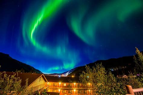 northern lights alaska cruise start or finish your alaska cruise tour on land