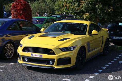 stage 1 voiture ford mustang roush stage 1 2015 24 septembre 2017 autogespot