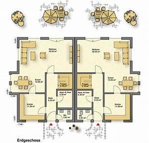 Doppelhaus Grundriss Cheap Abb Links Grundriss