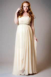 robe de soiree longue pour femme enceinte ornee d une With robe de soirée de grossesse