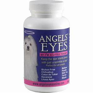 angels39 eyes for dogs and cats tear stain remover With angel eyes for dogs