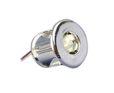 mini spot led encastrable 19mm 0 06w lumiere blanche