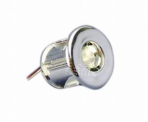 Mini Spot Led Encastrable : mini spot led encastrable 19mm 0 06w lumiere blanche ~ Dode.kayakingforconservation.com Idées de Décoration