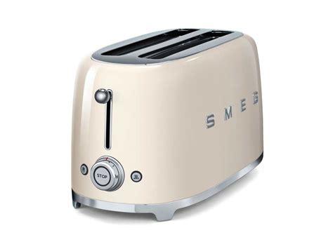 smeg tsf02creu 4 scheiben toaster creme