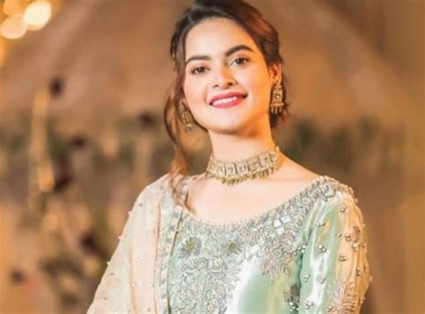 Too young to get married: Minal Khan