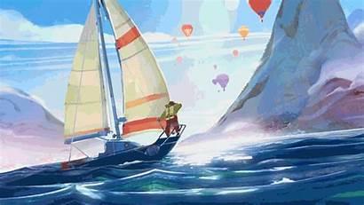 Journey Story Sailing Lip Artstation Scenes Mobile