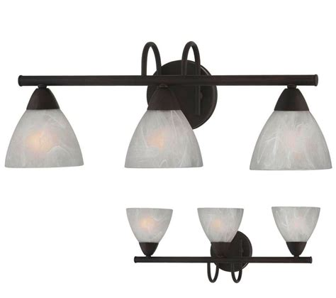 Bathroom Wall Light Fixtures by Rubbed Bronze 3 Light Bathroom Vanity Wall Lighting