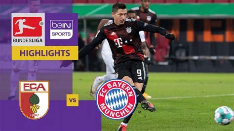 Sigue la cobertura en vivo del partido bayern munich vs f. Augsburg v Bayern Munich   Bundesliga 20/21   Match Highlights - YouTube