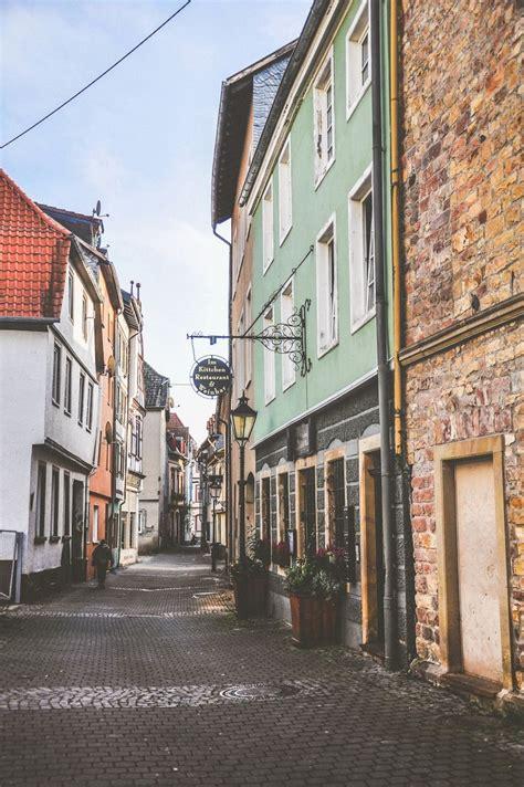 streets  bad kreuznach rhineland palatinate germany