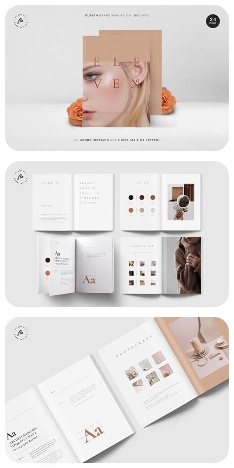 30+ Brand Manual / Guidelines Templates for Adobe InDesign