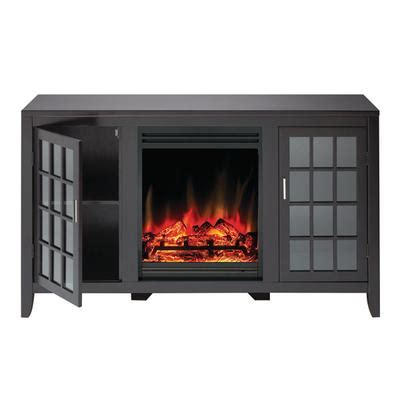 muskoka mandarin electric fireplace media unit espresso