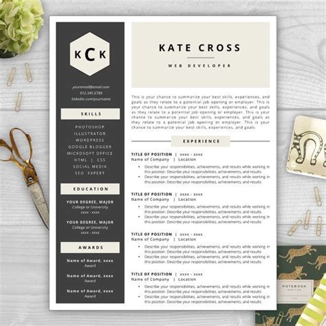 Resume Exles That Stand Out by Make Your R 233 Sum 233 Stand Out With A Beautiful And