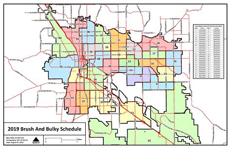 Tucson Brush And Bulky Pick Up Dates For Neighborhoods