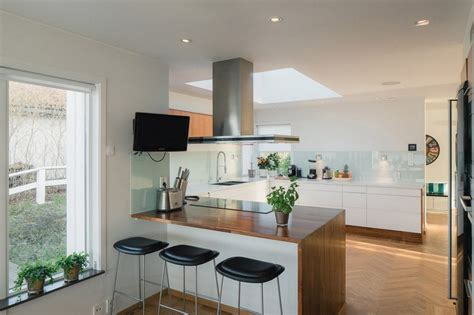 cuisine a la maison une maison contemporaine sur la péninsule de suède