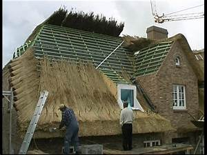 Craftsman    Reed Roof    Sylt    Germany Sd Stock Video