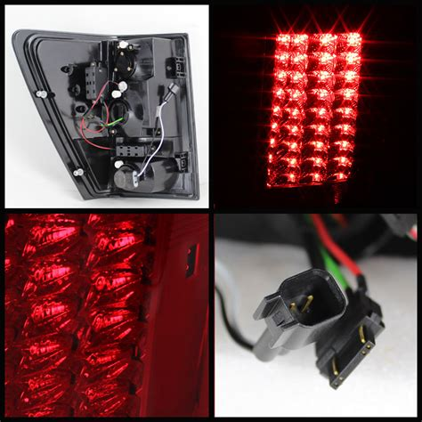 2007 jeep grand cherokee tail light 2007 2010 jeep grand cherokee led tail brake lights red
