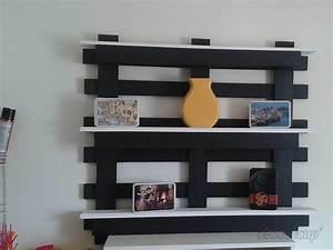 étagère En Palette : tag re r versible en palette par palcreassion ~ Dallasstarsshop.com Idées de Décoration