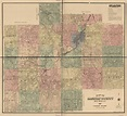 Map of Saginaw County, Michigan | Library of Congress