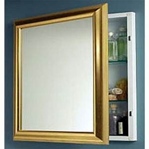 bathroom medicine cabinets the largest selection of high With brass framed medicine cabinet