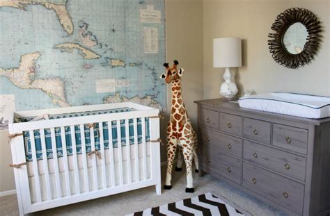 Travel-themed Baby Nursery American Home Furniture Tucson Used Model For Sale Office Collection Best Websites Patio Sets Depot Sulphur La Compact Interior
