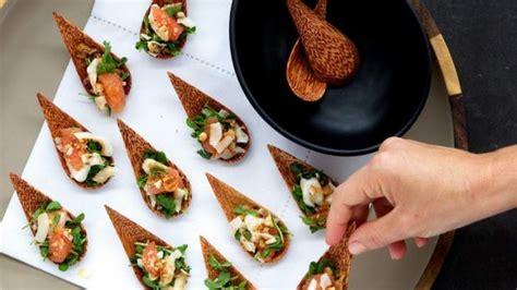 buffet cuisine design canape recipes