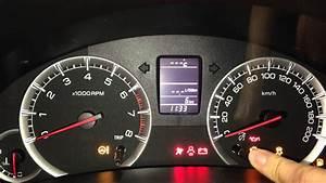 Suzuki Swift 1 2 Vvt - Reset Service Oil Light