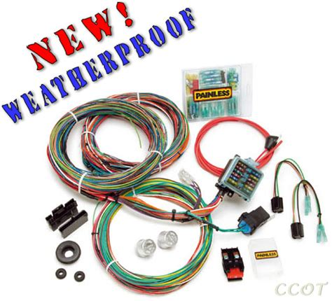 Automotive Wire Harnes Kit by Complete Wiring Harness Kit