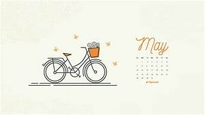 Freebie  May 2017 Wallpaper Calendar