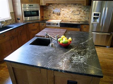 Soapstone Countertops by Texture How Much Soapstone Countertops Cost For