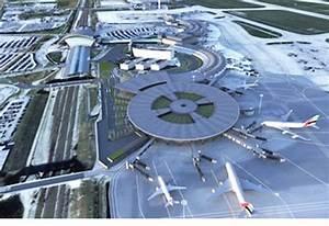 Aéroport De Lyon Parking : futur terminal 1 a roport lyon saint exup ry ~ Medecine-chirurgie-esthetiques.com Avis de Voitures